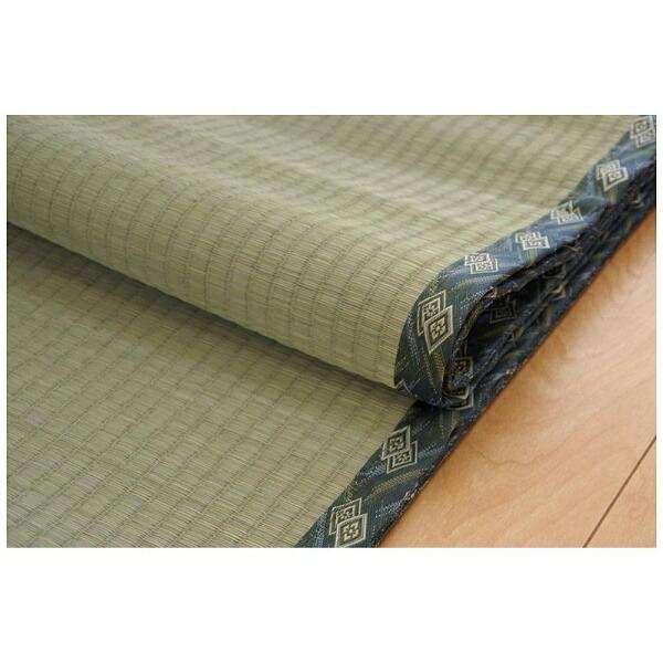 イケヒコIKEHIKOラグ減農薬栽培い草糸引織「西陣」(170×255cm/ナチュラル)