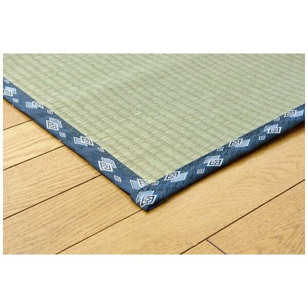 イケヒコIKEHIKOラグい草糸引織「岩木」(176×261cm/ナチュラル)【日本製】