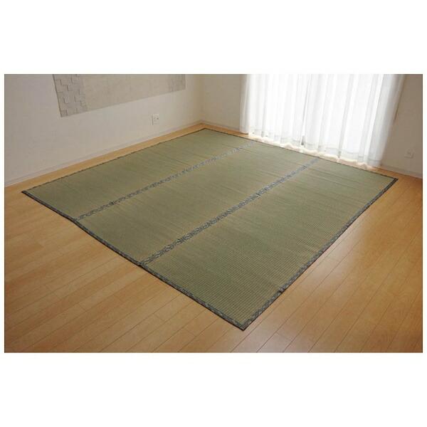 イケヒコIKEHIKOラグい草糸引織「湯沢」(176×261cm/ナチュラル)【日本製】