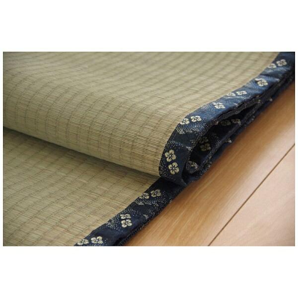 イケヒコIKEHIKOラグい草糸引織「立山」(91×182cm/ナチュラル)【日本製】
