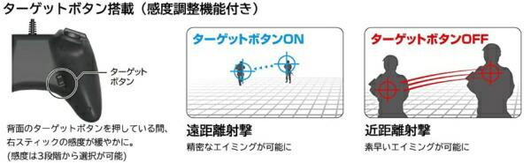 HORIホリホリパッドFPSプラスforPlayStation4ブルー【PS4/PS3】