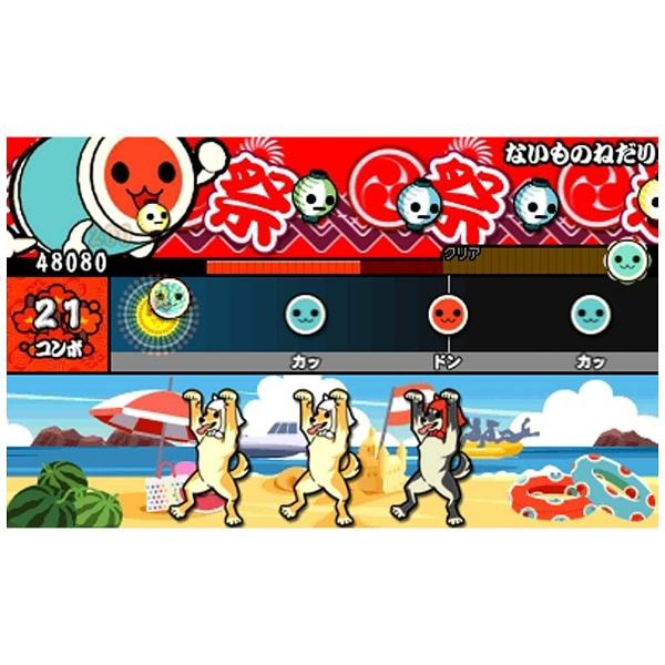 バンダイナムコエンターテインメントBANDAINAMCOEntertainment太鼓の達人ドコドン!ミステリーアドベンチャー【3DSゲームソフト】