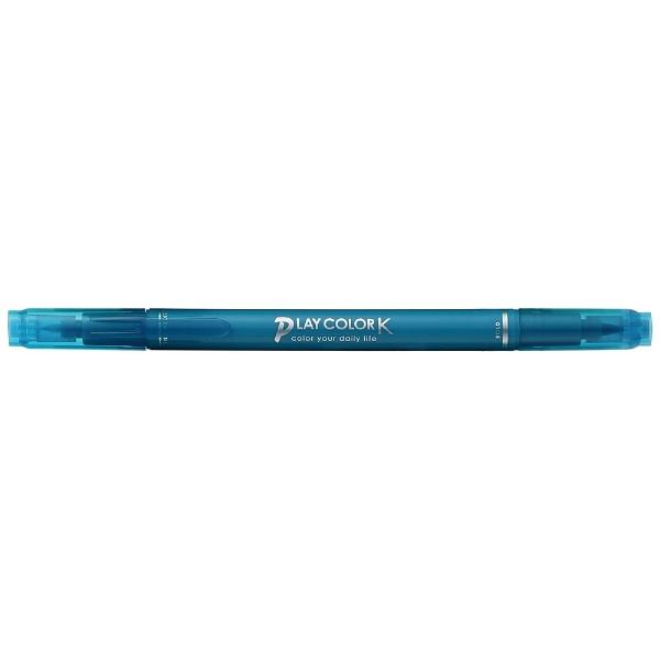 トンボ鉛筆Tombow[サインペン]プレイカラーKターコイズブルーWS-PK84