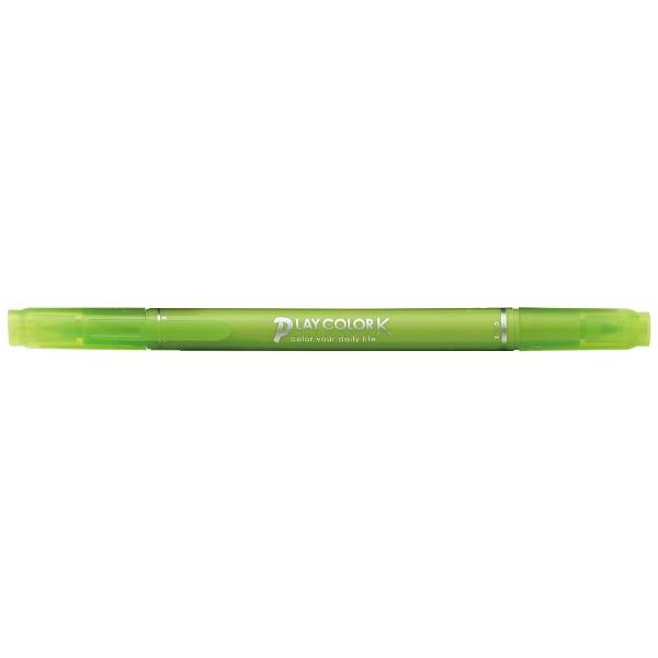 トンボ鉛筆Tombow[サインペン]プレイカラーKライムグリーンWS-PK50