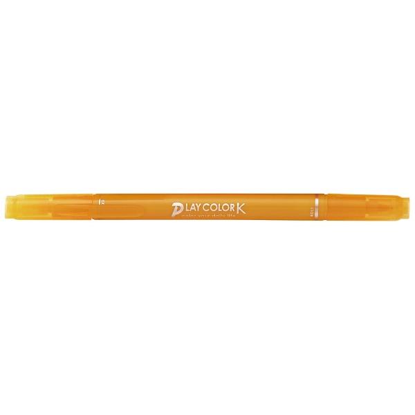 トンボ鉛筆Tombow[サインペン]プレイカラーKやまぶきいろWS-PK04