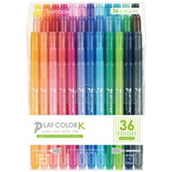 トンボ鉛筆Tombow[サインペン]プレイカラーK36色セットGCF-013