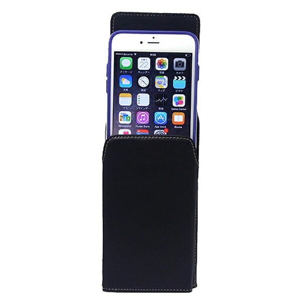 アスデックASDECiPhone6sPlus/6Plus用カバー付スマホ収納ホルダー縦型SH-IP9PV[SHIP9PV]