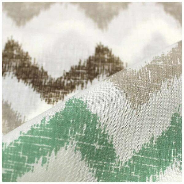 小栗OGURI【敷ふとんカバー】カフェシングルサイズ(ポリエステル65%、綿35%/105×215cm/グリーン)