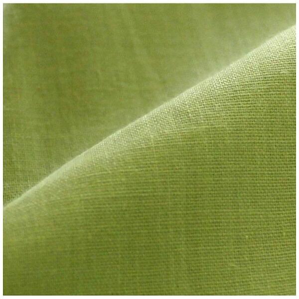 小栗OGURI【ボックスシーツ】スキップダブルサイズ(ポリエステル65%、綿35%/140×200×30cm/グリーン)