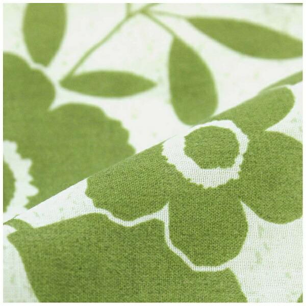 小栗OGURI【掛ふとんカバー】プレートシングルサイズ(ポリエステル65%、綿35%/150×210cm/グリーン)