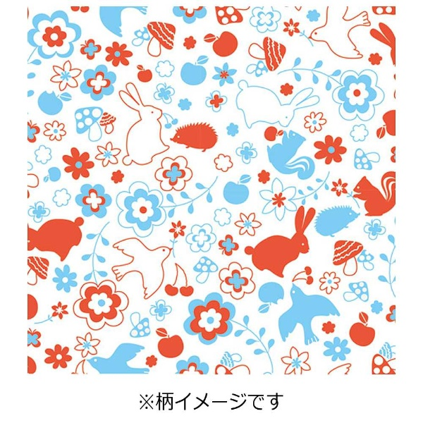 ササガワSASAGAWA[ラッピング]ロール包装紙レトロガーリー半才2P35-633