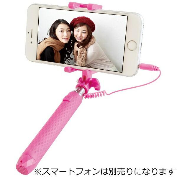 MUSASHIiPhone専用CompactSelfieStick(ピンク)MUSSTCOMPK[MUSSTCOMPK]