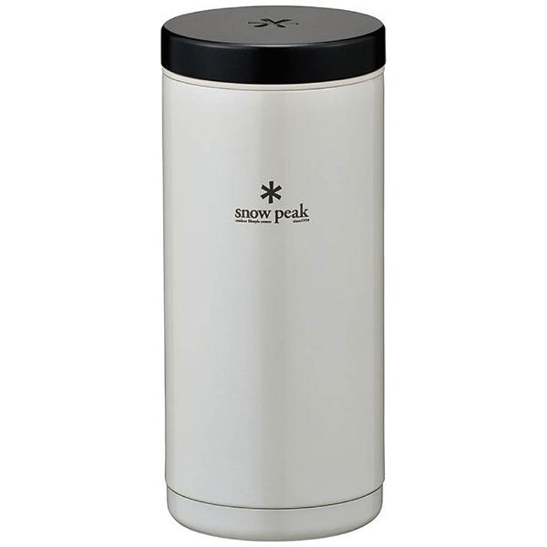 スノーピークsnowpeak多機能ボトルシステムボトル350パールホワイトTW-070PW