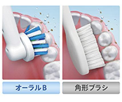 ブラウンBRAUN電動歯ブラシOral-B(オーラルB)すみずみクリーンEXD12013AE[回転式/AC100V][D12013AE]