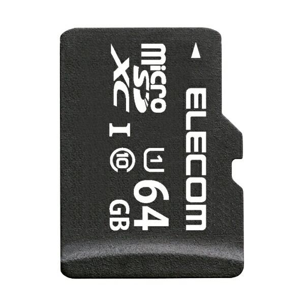 エレコムELECOMmicroSDXCカードMF-BMSDシリーズMF-BMSD-064[Class10/64GB][MFBMSD064]
