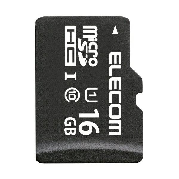 エレコムELECOMmicroSDHCカードMF-BMSDシリーズMF-BMSD-016[16GB/Class10][MFBMSD016]