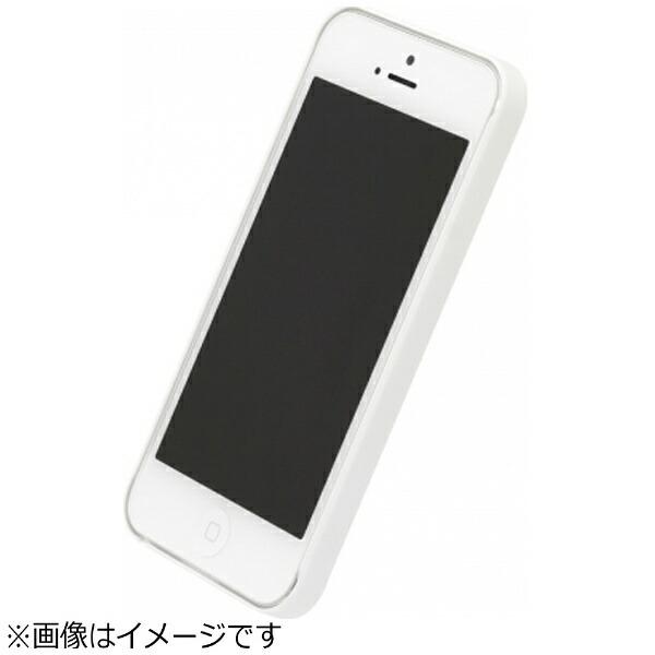 パワーサポートPOWERSUPPORTiPhoneSE(第1世代)4インチ/5s/5用エアージャケットラバーホワイトPSE-70液晶保護フィルム付