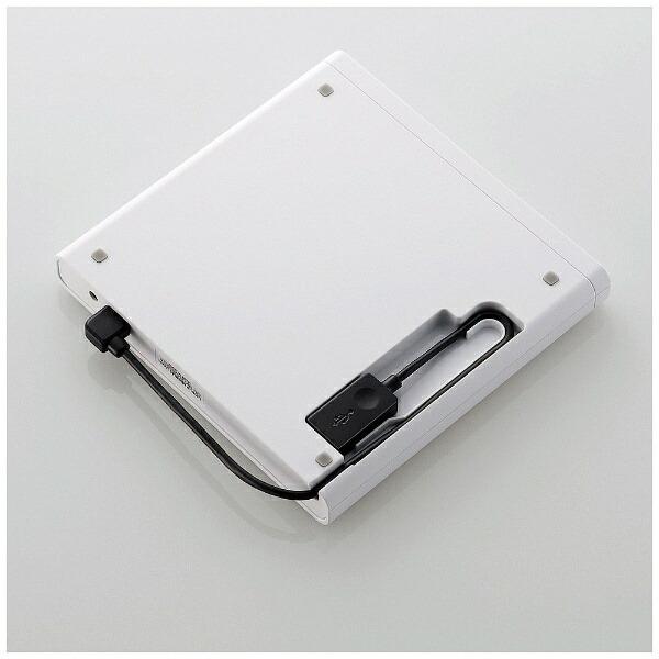 ロジテックLogitecLDR-PMJ8U2LWH(USB2.0ポータブルDVDドライブ書込ソフト付き/ホワイト)[LDRPMJ8U2LWH]