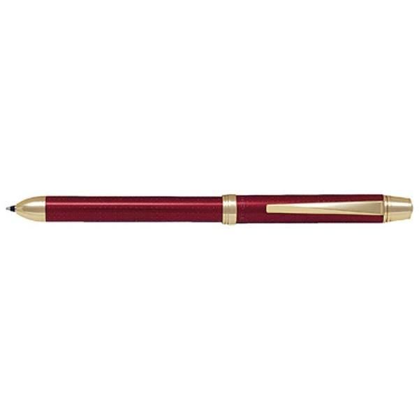 パイロットPILOT[多機能ペン]2+1RiDGE(リッジ)ワインレッド(インキ色:黒・赤+シャープ0.5mm)BTHR-5SR-WR