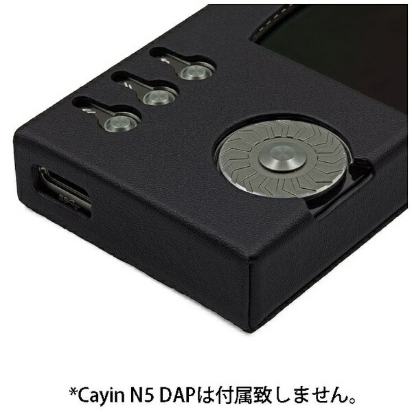 カインCayinCayinN5対応レザーケース(ブラック)