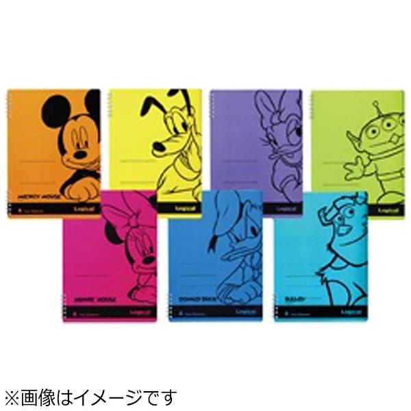 ナカバヤシNakabayashi[ノート]ナカバヤシスイング・ロジカルWリングノートディズニーモダンタイプミニー(ピンク)NW-B507-P