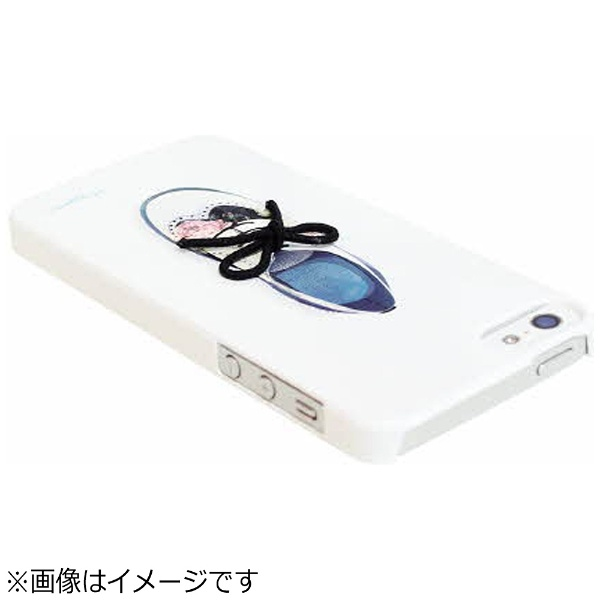 ROAロアiPhoneSE(第1世代)4インチ/5s/5用FlowerShoeBarオックスフォードHappymoriHM7626i5se