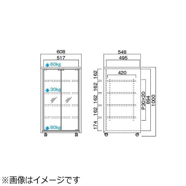 ハヤミ工産HayamiIndustryオーディオラックタテ型A-5106[A5106]