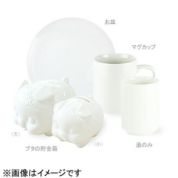 エポックケミカルEPOCHChemical[陶磁器]RAKUYAKIbuddies無地陶磁器ブタの貯金箱(小)白RMB-620