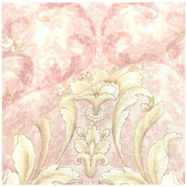 小栗OGURI【まくらカバー】セレナーデ標準サイズ(綿100%/43×63cm/ピンク)【日本製】