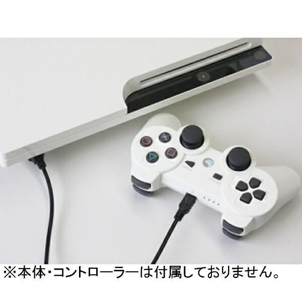 コロンバスサークルColumbusCircleUSBロング充電ケーブル【PS3コントローラー/WiiUPROコントローラー/PSP(PSP-2000/3000)】