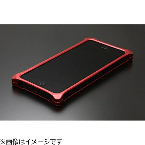 GILDdesignギルドデザインiPhoneSE(第1世代)4インチ/5s/5用ソリッドレッド41722GI-260Rストラップホール付