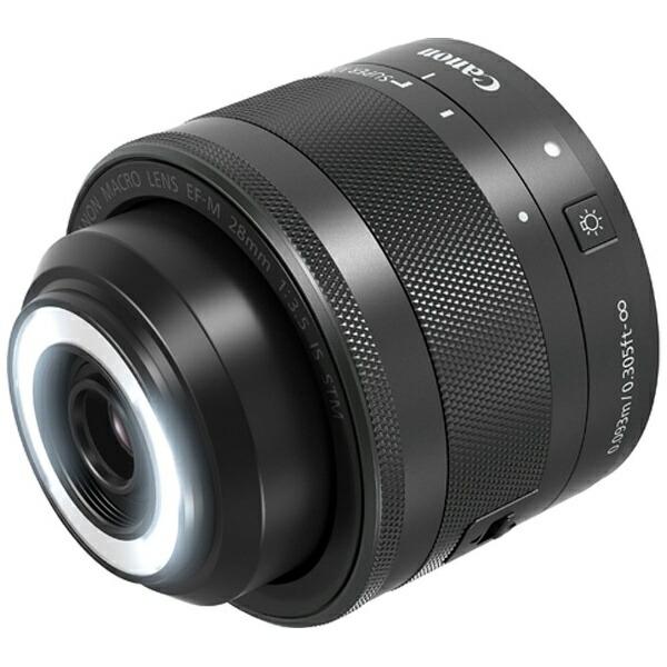 キヤノンCANONカメラレンズEF-M28mmF3.5マクロISSTMブラック[キヤノンEF-M/単焦点レンズ][EFM283.5MISSTMJ]