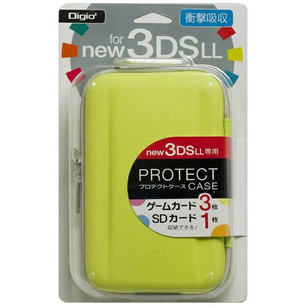 ナカバヤシNakabayashiニンテンドーNew3DSLL用プロテクトケースライム【New3DSLL】