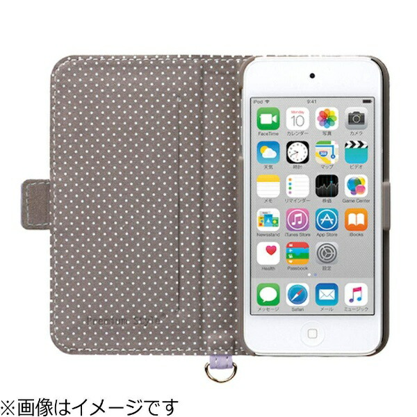 PGAiPodtouch5G/6G専用レザーケース(パステルリボンピンク)PG-IT6FP02PK[iPodtouch用][PGIT6FP02PK]