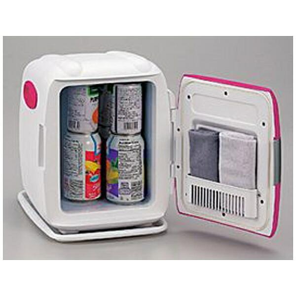 ツインバードTWINBIRD冷蔵庫小型一人暮らしHR-DB06Pコンパクト電子保冷保温ボックス?[2電源式]D-CUBESピンク[冷蔵庫小型一人暮らし静音HRDB06P]