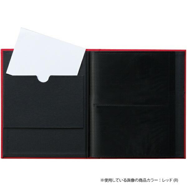 セキセイSEKISEIHARPERHOUSEフレームアルバムLサイズ80枚収容(イエロー)