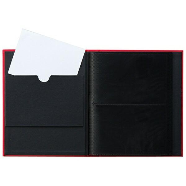 セキセイSEKISEIHARPERHOUSEフレームアルバムLサイズ80枚収容(ピンク)