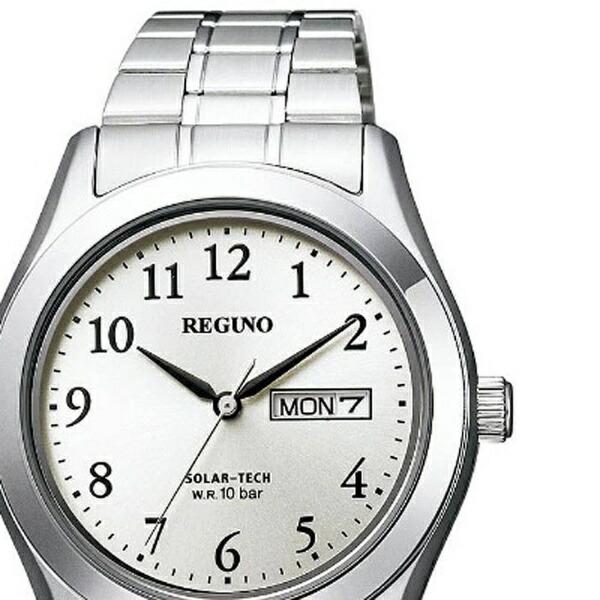 シチズンCITIZEN[ソーラー時計]レグノ(REGUNO)「ソーラーテックスタンダードリングソーラー」KM1-211-13