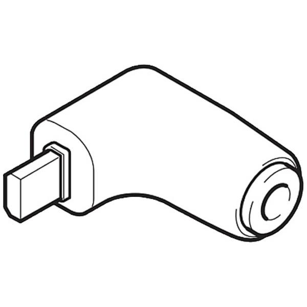 ユピテルYUPITERUDCプラグ⇒ミニプラグ変換コネクターOP-8U[OP8U]
