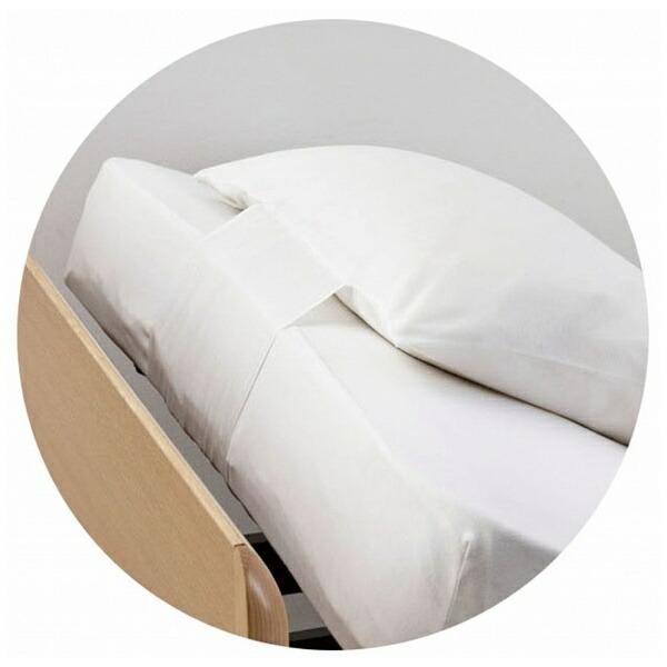 フランスベッドFRANCEBED【まくらカバー】リクライニング対応のびのびピッタピロケースRX用(50×70cm/ホワイト)【日本製】フランスベッド