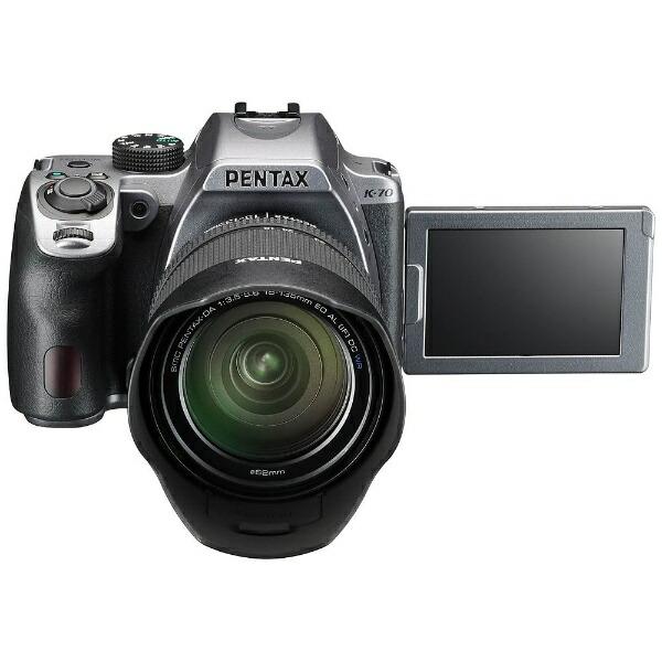 リコーRICOHPENTAXK-70デジタル一眼レフカメラ18-135WRレンズキットシルキーシルバー[ズームレンズ][K70レンズキットSL]
