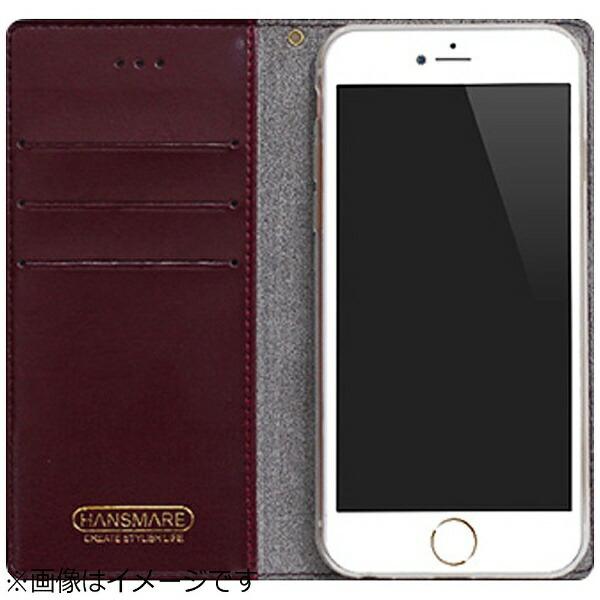 ROAロアiPhone6s/6用手帳型StandingDiaryワインHANSMAREHAN7330i6S