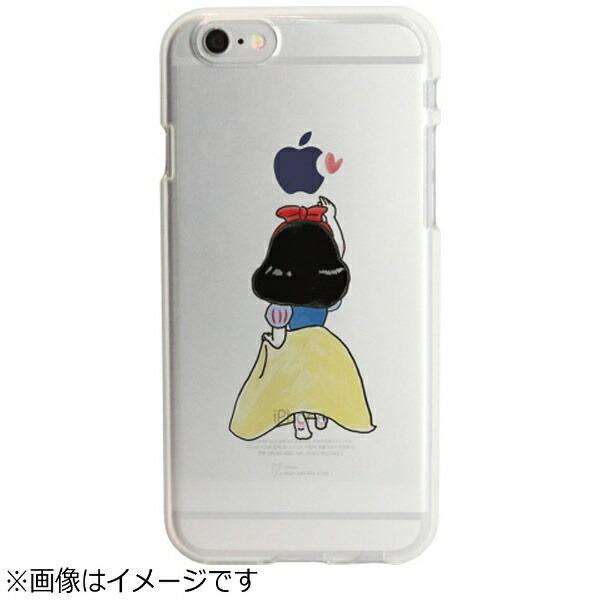 ROAロアiPhone6s/6用ソフトクリアケースファンタジー童話白雪姫DparksDS7364i6S