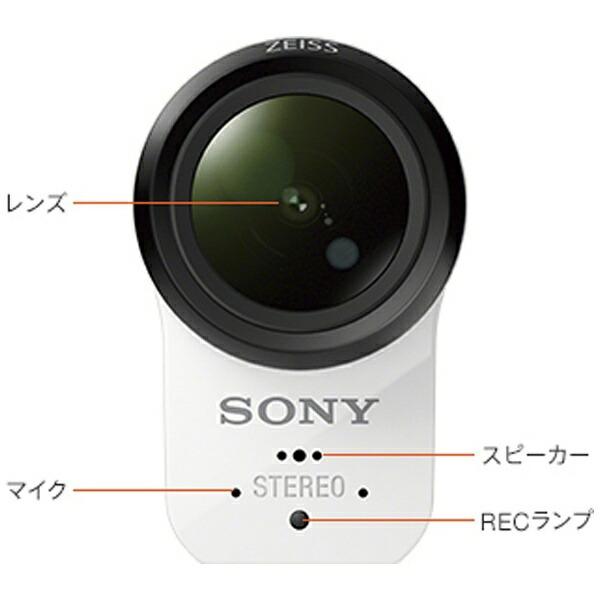 ソニーSONYFDR-X3000アクションカメラ[4K対応/防水+防塵+耐衝撃/光学式(空間光学方式、アクティブモード搭載)][FDRX3000]