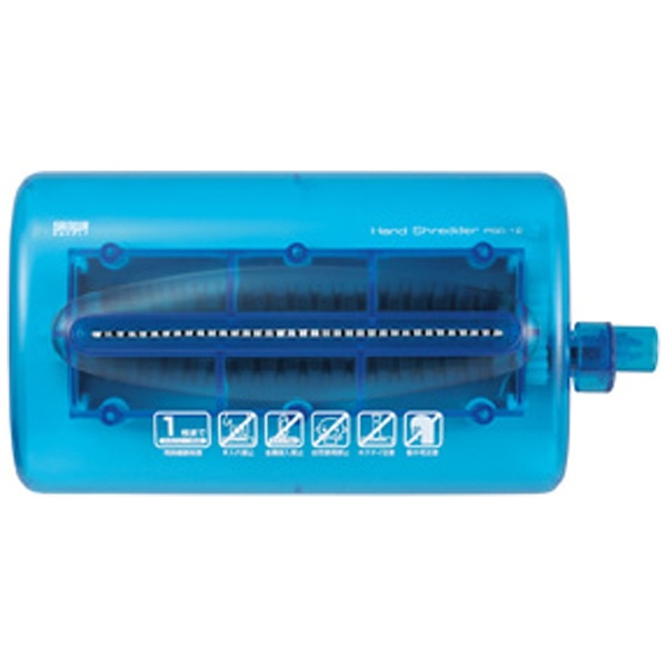 サンワサプライSANWASUPPLYPSD-12ハンドシュレッダー[ストレートカット/はがきサイズ][PSD12]