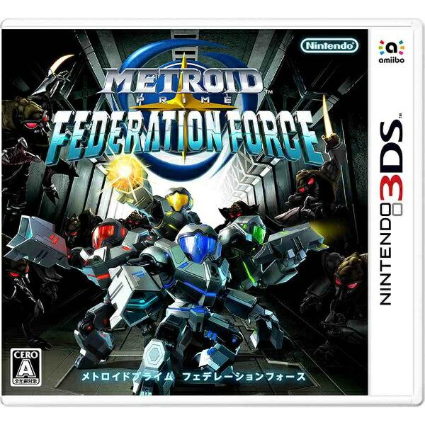 任天堂Nintendoメトロイドプライムフェデレーションフォース【3DSゲームソフト】