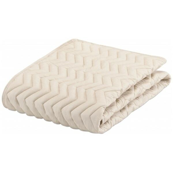 フランスベッドFRANCEBED【ベッドパッド】グッドスリーププラスバイオパッド(ワイドダブルロングサイズ/154×205cm/キナリ)フランスベッド