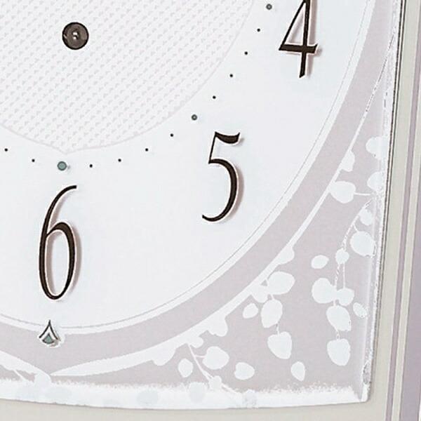 セイコーSEIKO置き時計【スタンダード】薄緑BZ360M[電波自動受信機能有]