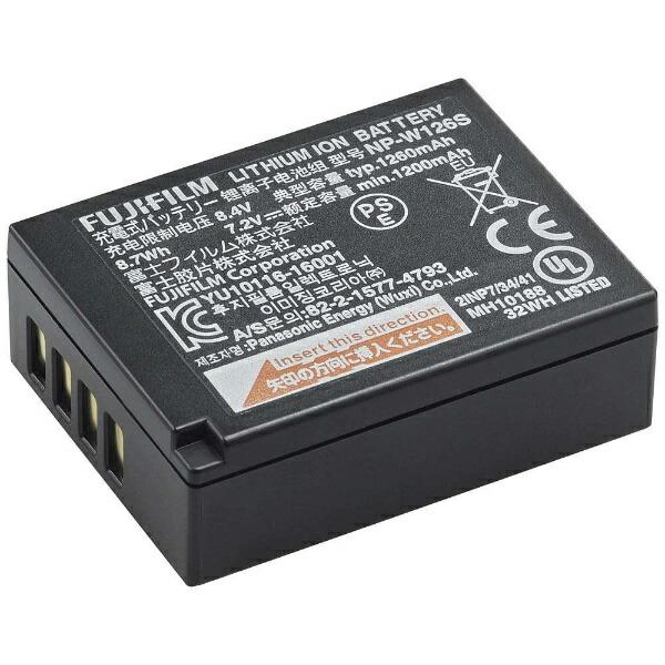 富士フイルムFUJIFILM充電式バッテリーNP-W126S[FNPW126S]