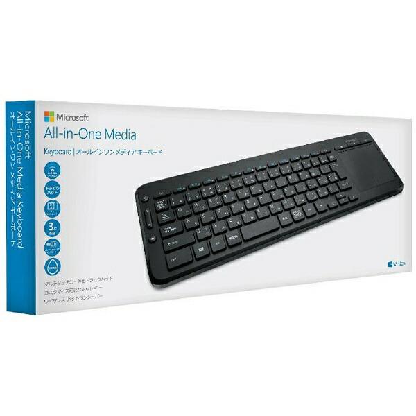 マイクロソフトMicrosoftN9Z-00029キーボードAll-in-OneMediaKeyboard[USB/ワイヤレス][N9Z00029]
